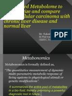 NMR Profiling for Liver Cancer