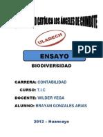Biodiversidad t.i.c