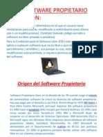 Software Propietario (fanny)