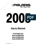 2005 Polaris Sportsman 400-500 Service Manual (NoPW