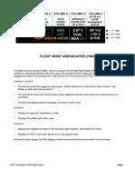 FMA modes A320