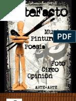 """Revista """"Artefacto"""" - Cecilia Mena"""