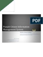 Shahbaz (Punjab Citizen Information Management System)