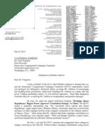 Letter to J. Ferguson