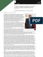 Revista Origen. Entrevista a Francisco Robles.