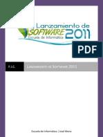 Lanzamiento de Software 2011