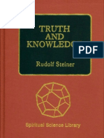 Rudolf Steiner - Truth and Knowledge