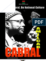 Amilcar Cabral on National Culture