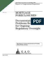 57456143 110505 GAO Mortgage Foreclosure Report