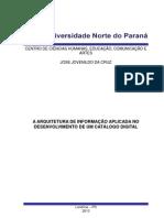 Caderno Fase II - A Arquitetura Da Informação Aplicada No Desenvolvimento De Um Catálogo Digital