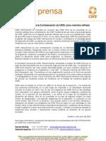 CARE Perú se une a la Confederación de CARE como miembro afiliado