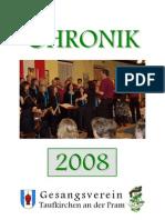 Gesangsverein Taufkirchen Chronik 2008