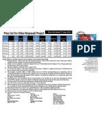 XRBIA Hinjewadi by Eiffel Developers - Pre Launch Rate Sheet