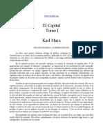 Karl Marx - El Capital I