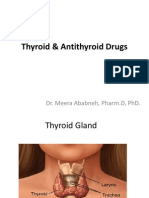 Thyroid Drugs Student Version