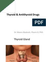 Thyroid Drugs Student Version