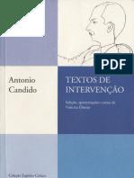 Antonio Candido - Sobre Poesia (Ensaio)