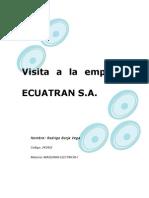 Visita a La Empresa ECUATRAN 1
