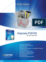 Aspose.Pdf.Kit Brochure