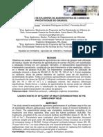 2012 Moraes - RESÍDUOS LÍQUIDOS DE EFLUENTES DE AGROINDÚSTRIA DE CARNES NA PRODUTIVIDADE DO GIRASSOL
