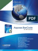 Aspose.Barcode Brochure