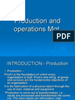 1. Production and Operations Mgt
