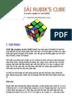 Cach Giai Rubik 2x2x2, 3x3x3, 4x4x4, 5x5x5