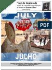 Imaculada Conceição Boletim Julho e Agosto 2012