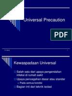 Universal Precaution Obg&Bedah