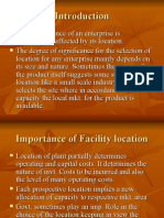 2. Facility Location & Layout