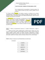 Ejemplo Solucion Con El Modelo Entidad-Relacion