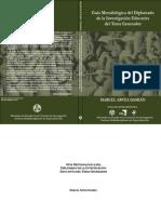 Guía del Diplomado de la Investigación Educativa del Tema Generador. Marcel Arvea