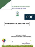 Informe 2010 Rendicion de Cuentas Sgrt