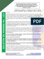 Boletin de Prensa 123