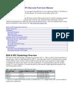 PrecisionID EANUPC Barcode Font Manual