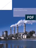 Energy Outlook for China 2005
