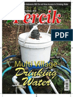 Multi-Village Drinking Water. PERCIK.  Indonesia Water and Sanitation Magazine 2nd Edition 2010