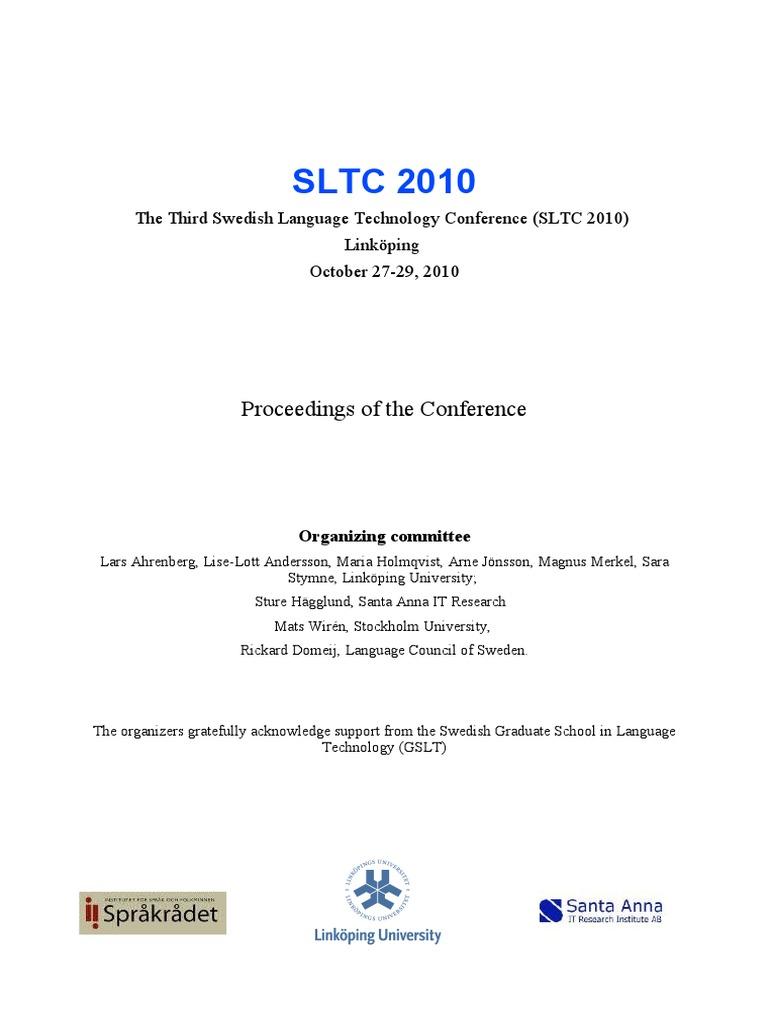 Sltc Proceeding Final