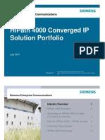HiPath 4000 Portfolio Overview 110720x