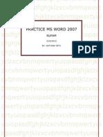 word 2007 easy