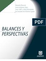 Balances y Perspectivas de La PPGDLGBT 2008-2011