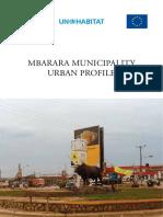 Mbarara Municipality Urban Profile - Uganda