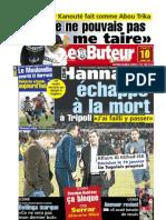 LE BUTEUR PDF du 10/01/2009