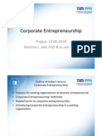 IP Jakl Corporate Entrepreneurship