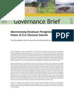 Gov. Brief tentang KPH by CIFOR