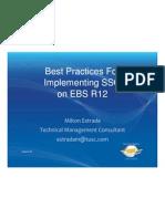 Bestpractices Implementingebsr12with Sso