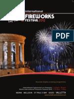 Malta International Fireworks Festival 2012 Official Magazine