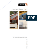 Licon Products Catalogue 2012