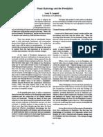 Flood Hydrology and the Floodplain