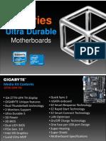 Gigabyte GA-Z77X-UP4 TH Motherboard